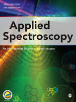 Cover of the Journal Applied Spectroscopy