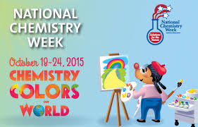 National Chemistry Week Oct 18 to 24 Chemistry Colors Our World
